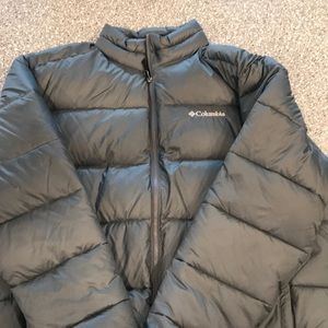 Men's Columbia down jacket